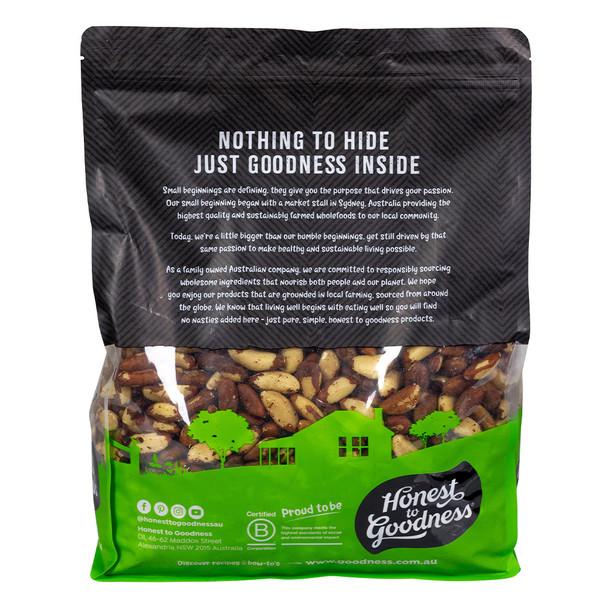 Organic Brazil Nut Kernels 4KG