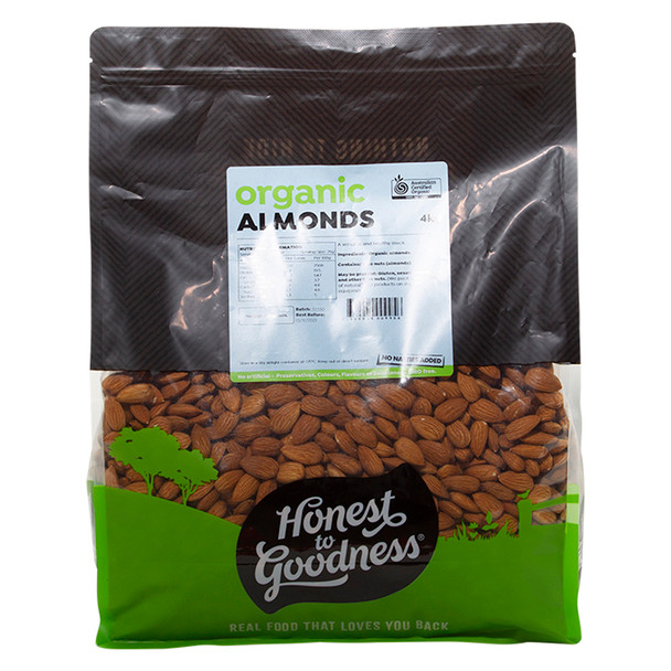 Honest to Goodness Organic Almonds
