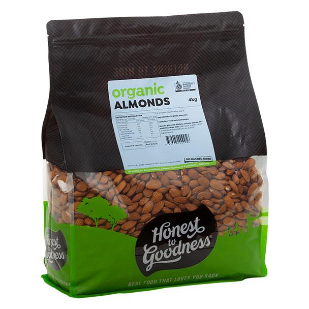 Organic Almonds 4KG