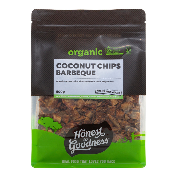Organic BBQ Coconut Chips