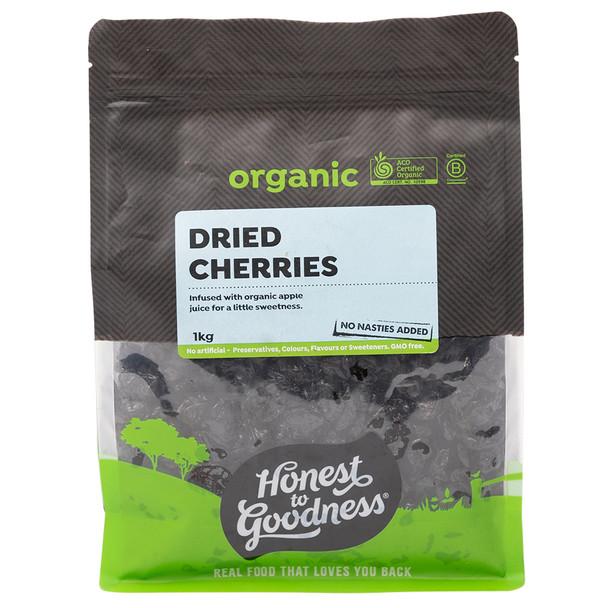 Organic Dried Cherries 1KG