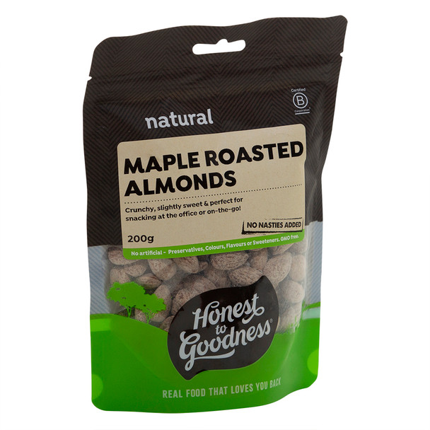 Maple Roasted Almonds 200g
