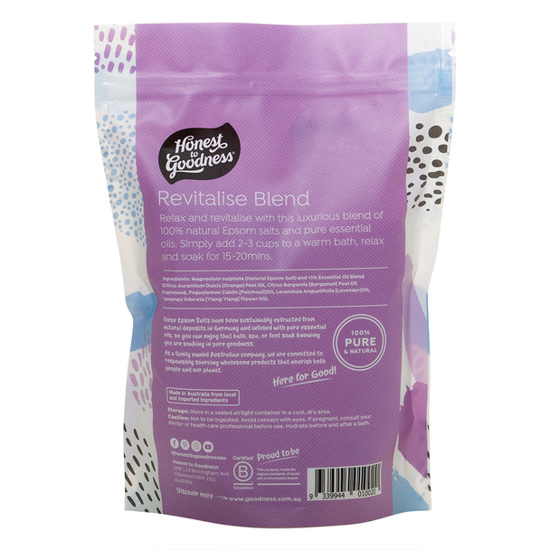 Epsom Salt - Revitalise Blend 1KG