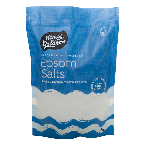 Honest to Goodness Natural Unscented Epsom Salts