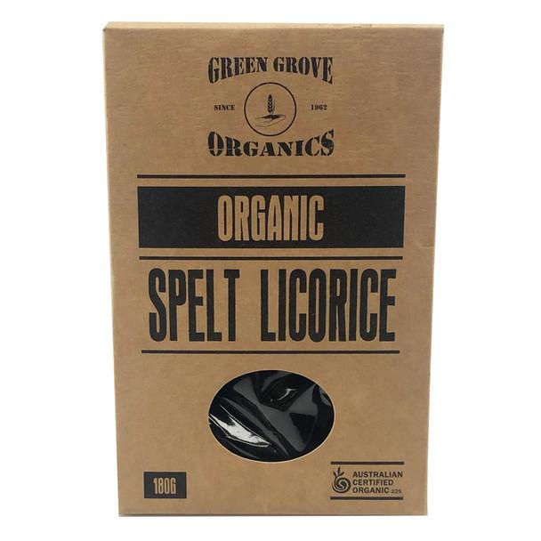 Organic Spelt Licorice 180g