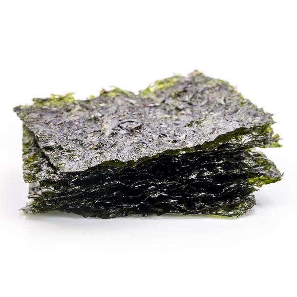 Organic Roasted Seaweed Snack - Sea Salt 5g x 6 Pack