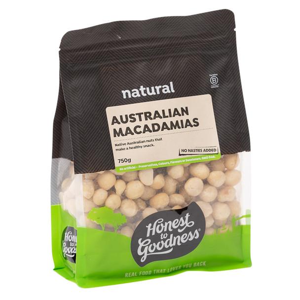 Australian Macadamia Nuts 750g