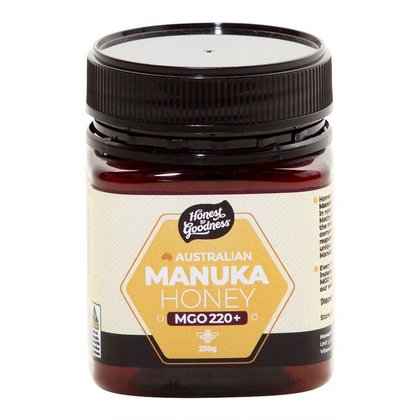 Honest to Goodness Australian Manuka Honey 220+