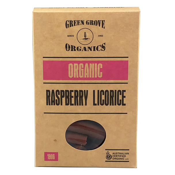 Organic Raspberry Licorice 180g