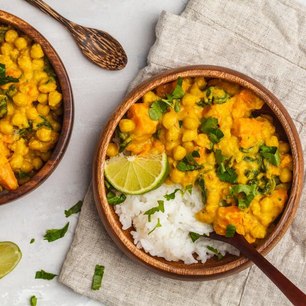 Coconut & Turmeric Chickpea Curry