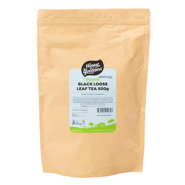 Organic Black Loose Leaf Tea 500g