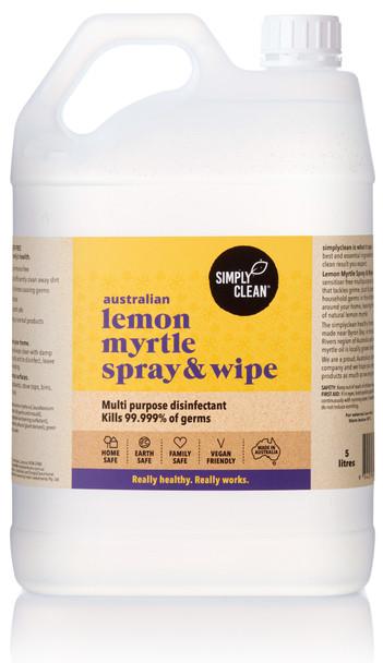 Lemon Myrtle Spray & Wipe 5L