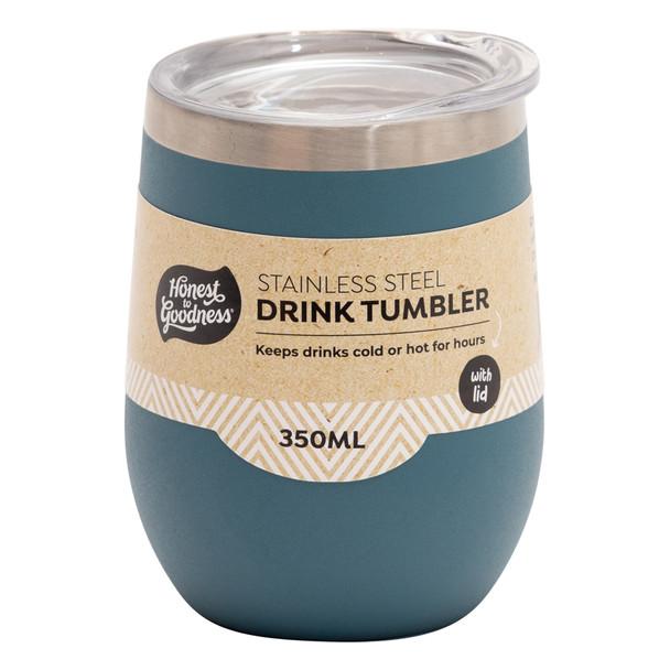 Stainless Steel Drink Tumbler 350ml - Blue