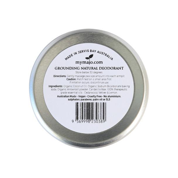 Grounding Natural Deodorant- 60g