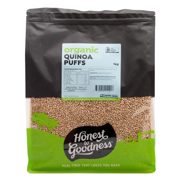 Organic Quinoa Puffs 1KG