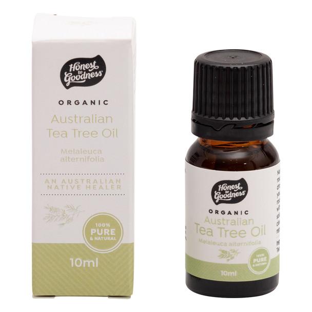 Organic Australian Tea Tree Essential Oil 10ml
