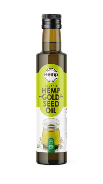 Organic Hemp Gold Seed Oil 250ml