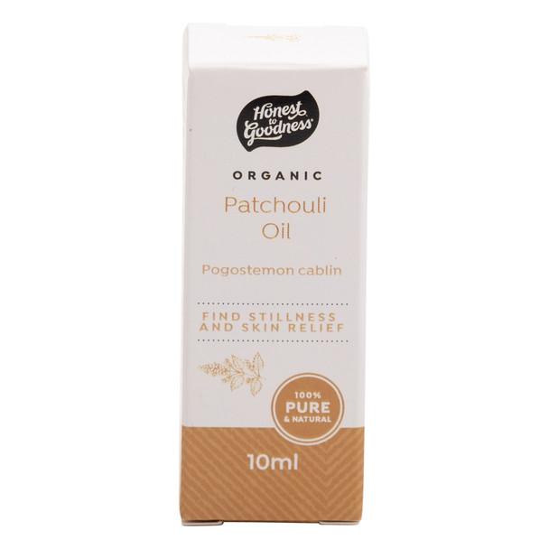 Organic Patchouli Essential Oil 10ml