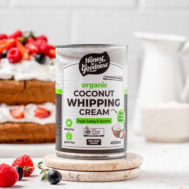 Organic Coconut Whipping Cream 400ml
