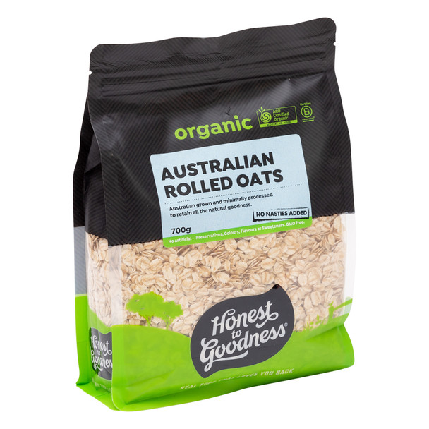 Organic Australian Rolled Oats 700g