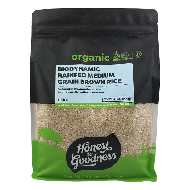 Honest to Goodness Biodynamic Rain Fed Brown Rice