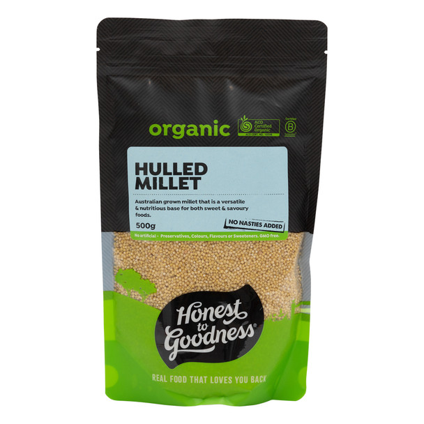 Organic Australian Hulled Millet 500g