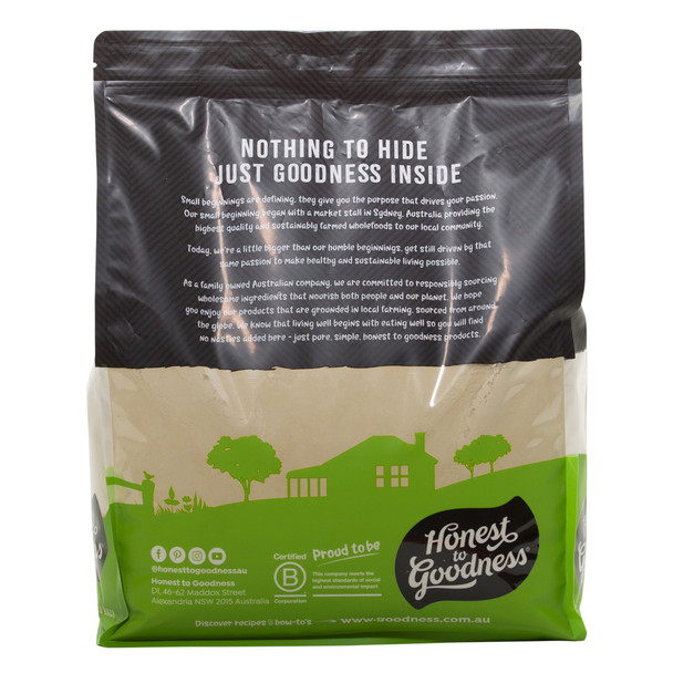 Organic Sprouted Brown Rice Protein Powder 4KG
