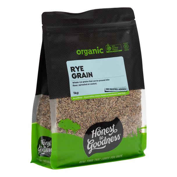 Organic Australian Rye Grain 1KG