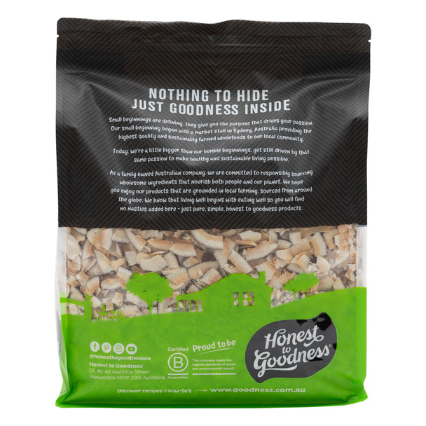Organic Coconut Chips - Simply Toasted 3KG - BBD 13.09.2022