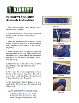 The Original Bucketless Mop Kit