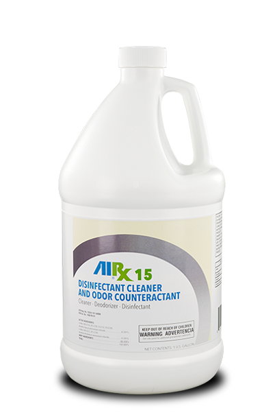 RX 15 Cleaner Disinfectant Odor Counteractant Gallon (Large Image)