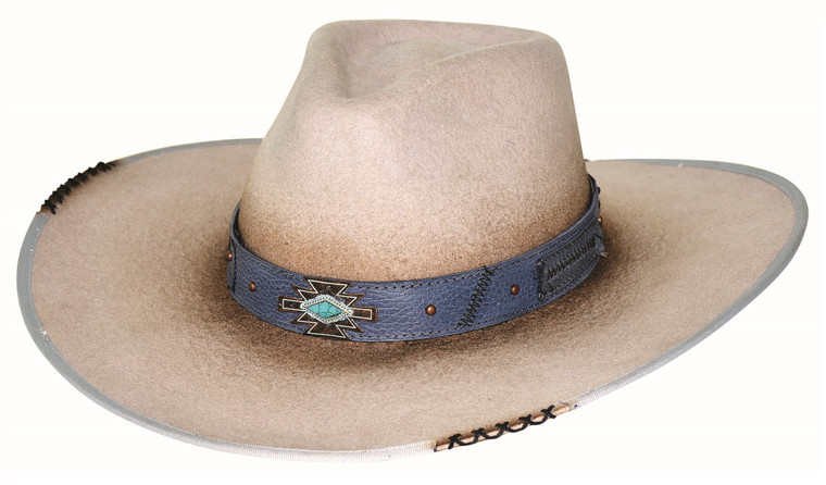 MESSED UP Silverbelly Premium Wool Western Cowboy Hat by Bullhide MonteCarlo Hats (Billy Ray Cyrus style)