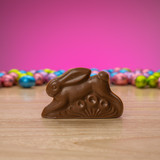 milk chocolate running classic rabbit #1