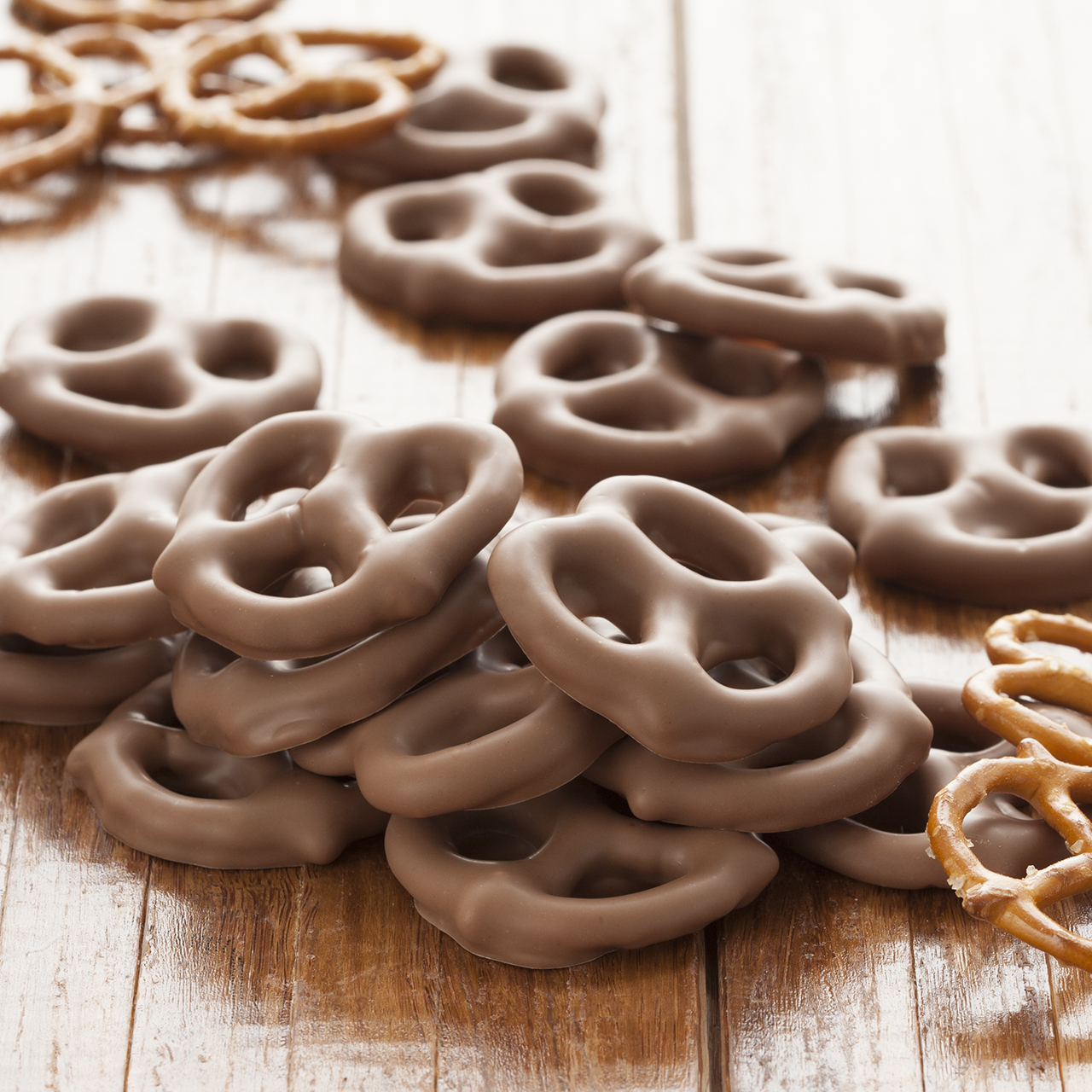 Chocolate-covered Pretzel Twists - 5 oz