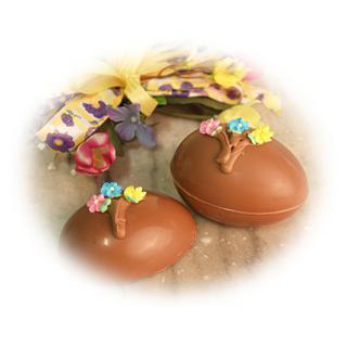 Handcrafted Chocolate Easter Eggs