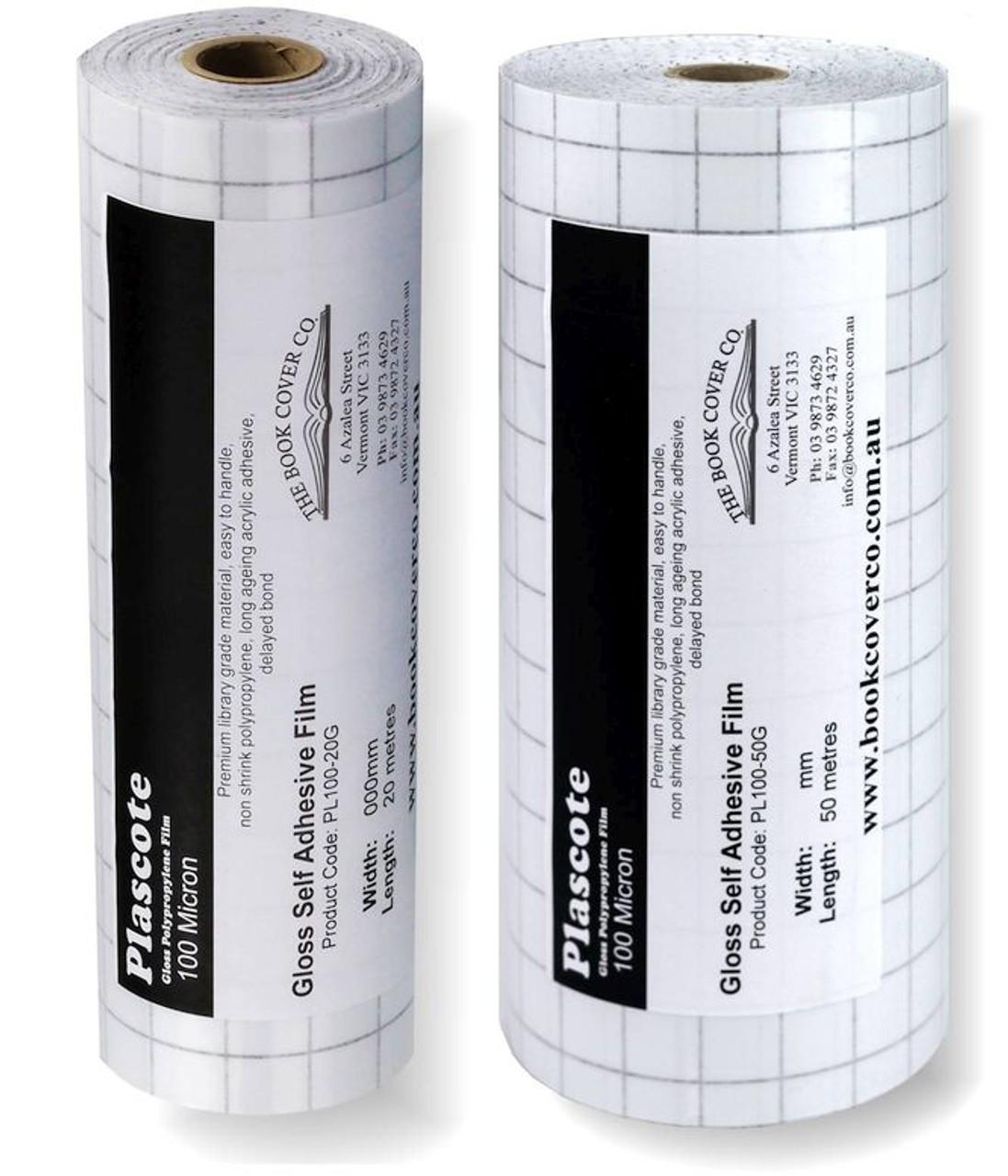 Plascote 100 rolls - 20 and 50 M rolls
