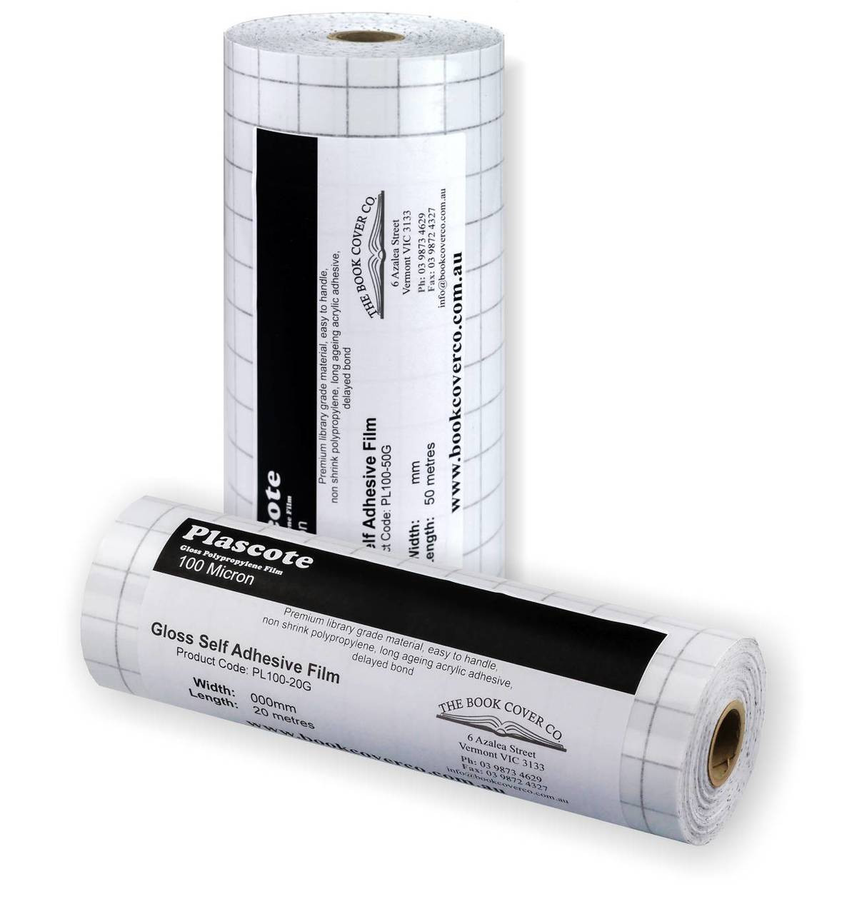 Plascote Self Adhesive - 100 micron