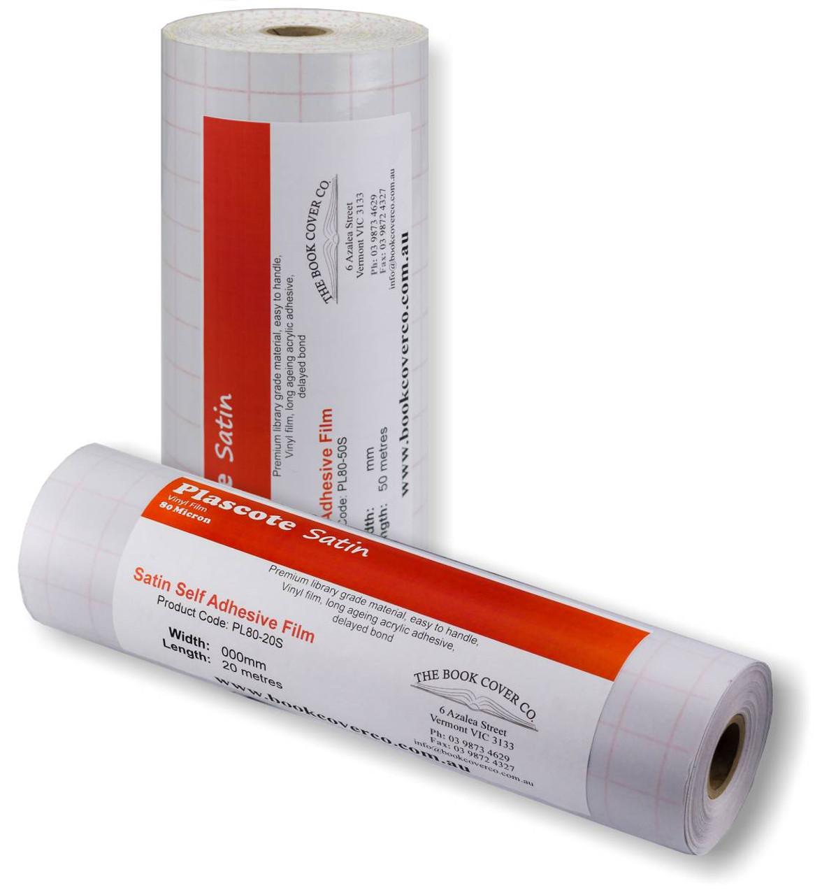 Plascote Self Adhesive - 80 micron Satin