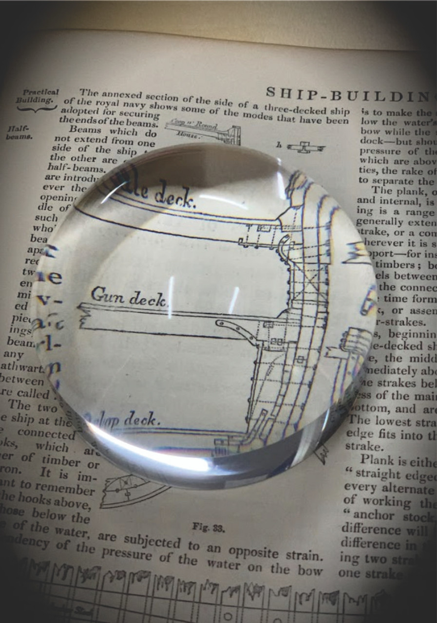 Acrylic Dome Magnifier - 80mm