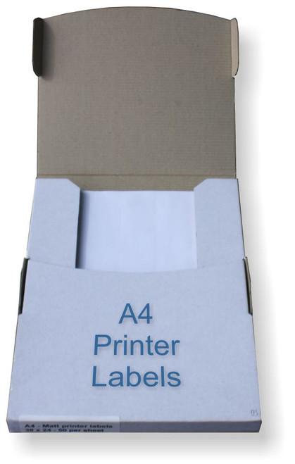 Box of A4 Printer LAbels
