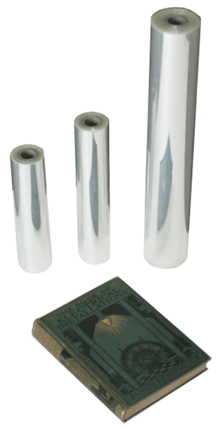 Crystal Cover - Polyester film - 25M rolls