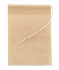 1 Unbleached Paper Self Fill Teabags, Plastic Free, Extra Large for Fine Tea Infusion, 9x13cm