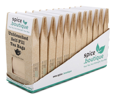 Retail Display Carton, Unbleached Paper, One Pot Size, 12x50