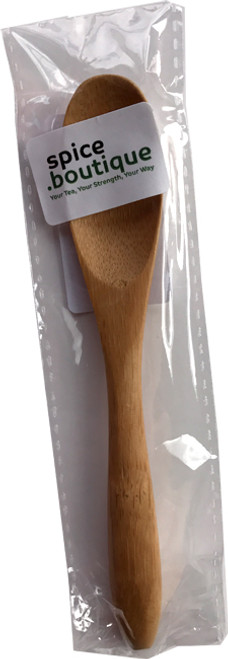 Bamboo TEA SPOON ideal for use with spice.boutique self fill bags