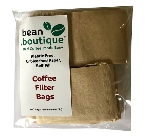 "Ground Coffee Filter Bags ""To Go"""