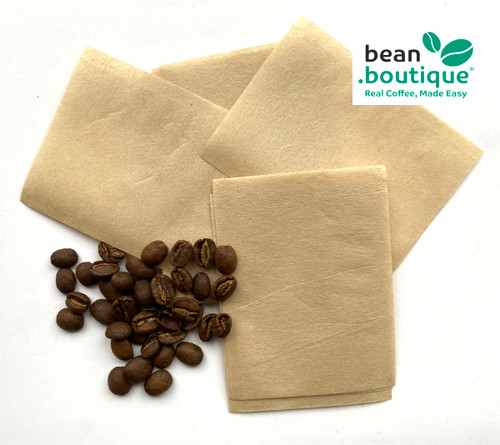 Unbleached Paper, Heat Seal, Self Fill Coffee Bags, 6x8cm
