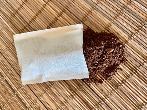 Self Fill Heat Seal Coffee Bag with Coffee