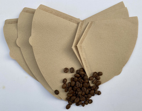 percolator coffee filter papers - unbleached plastic free