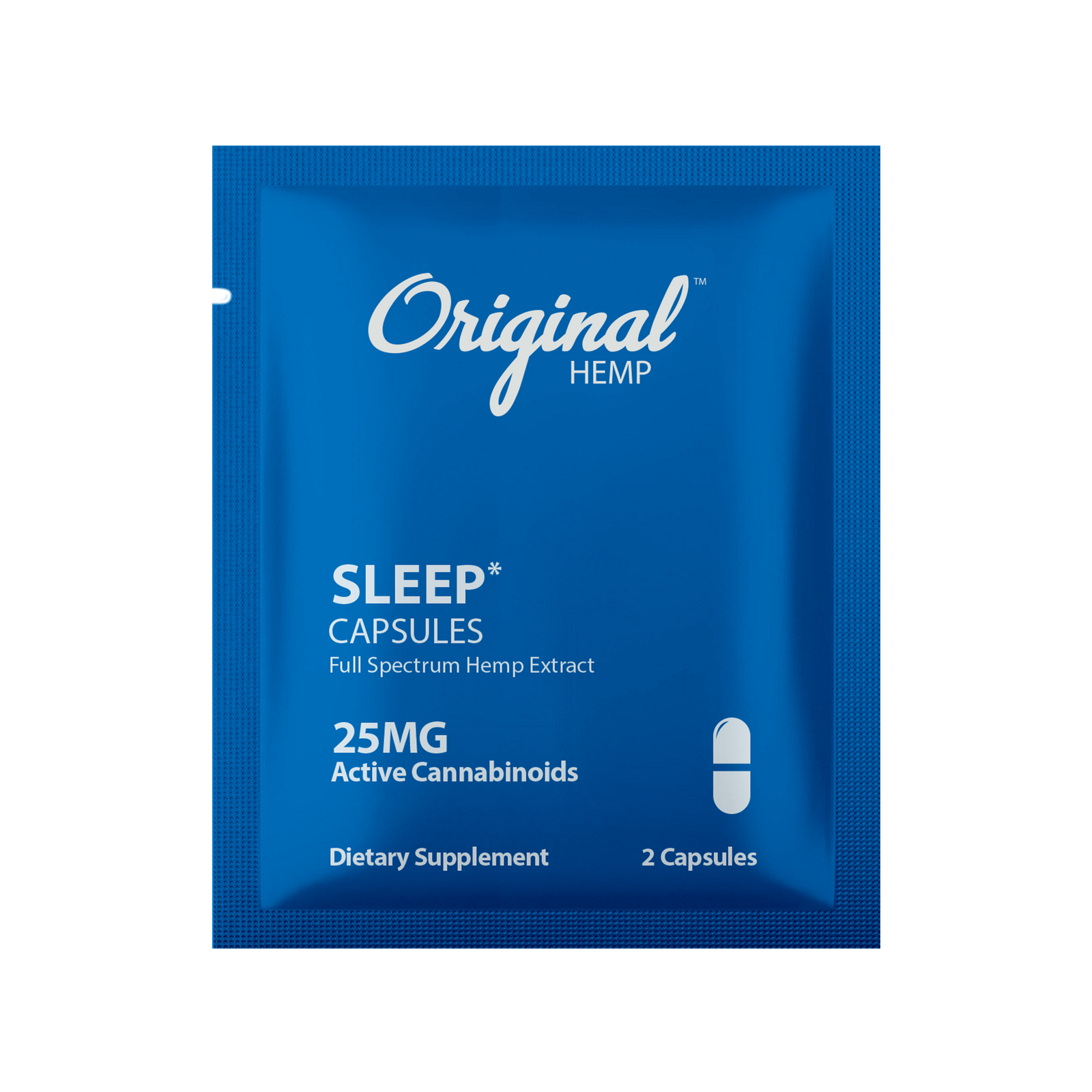 Original Hemp Sleep Daily Dose Capsules - 25 mg