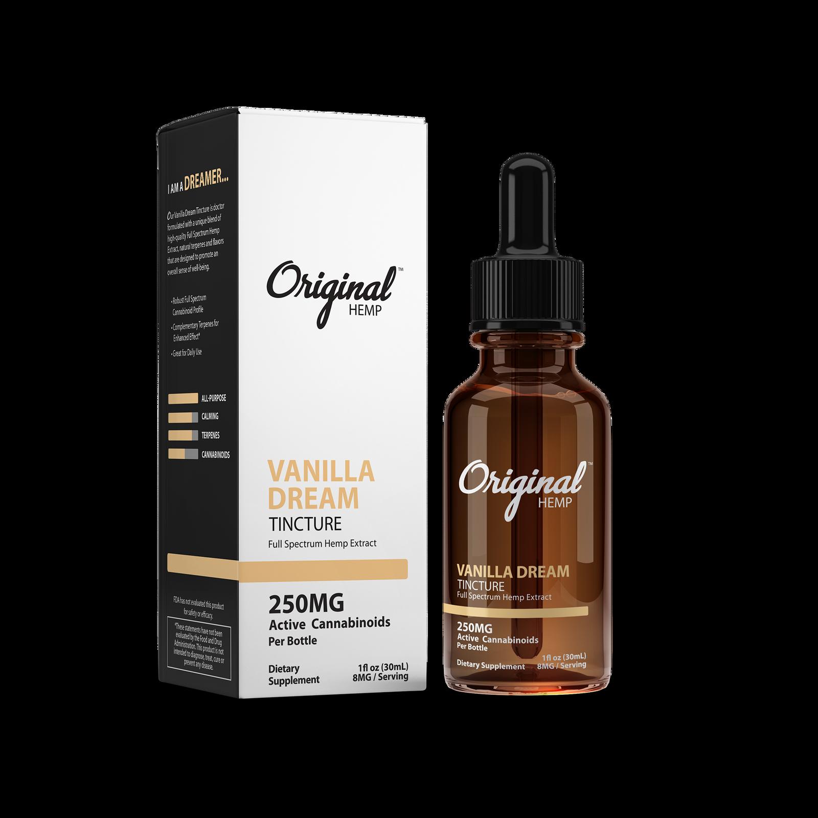 Vanilla Dream MCT Oil by Original Hemp